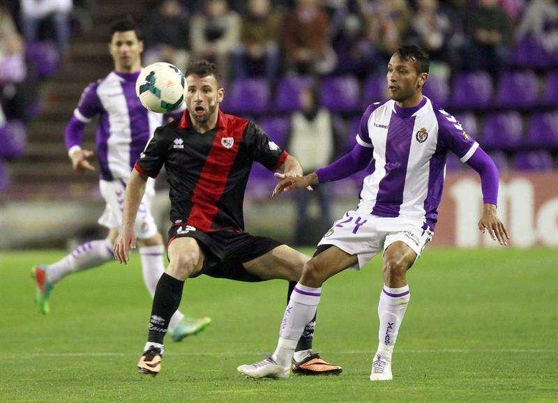 El Rayo suma un buen punto que no sirve al Valladolid (1-1)