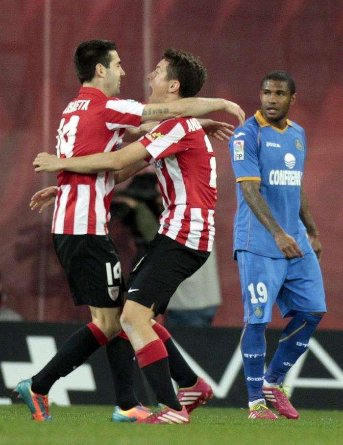 El Athletic coloca al Getafe a las puertas del infierno: 1-0