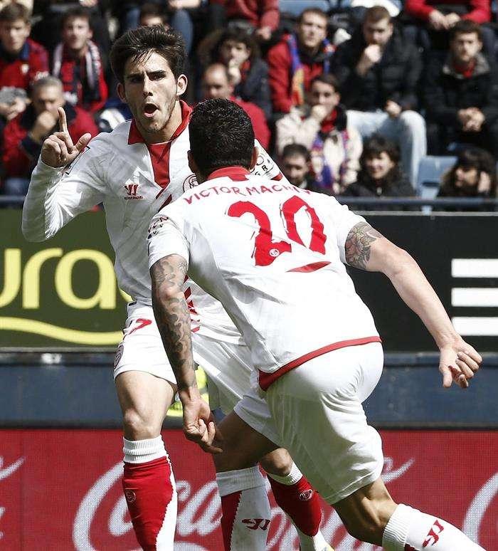 Las mejores imágenes de Osasuna - Sevilla