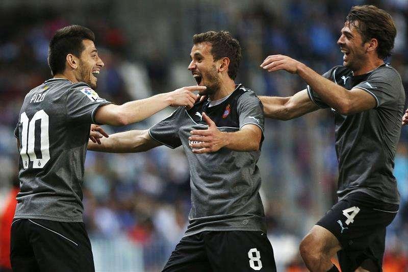 El Espanyol devuelve al Málaga a la cruda realidad (1-2)