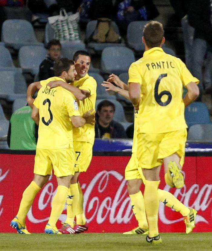 El Getafe aumenta su mala racha y revive al Villarreal (0-1)