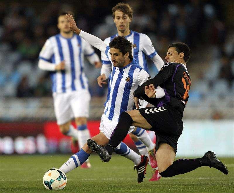 Las mejores imágenes del Real Sociedad - Valladolid
