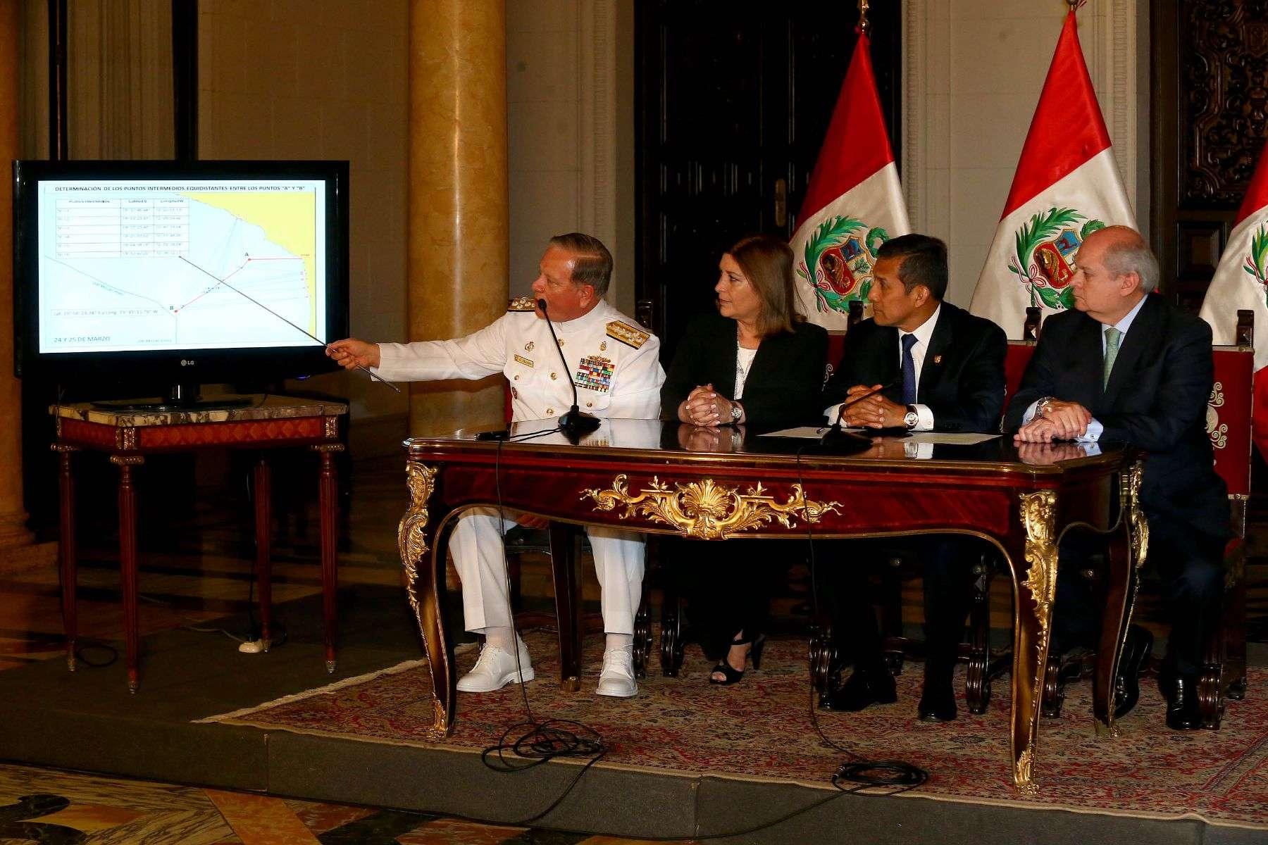 Humala: Hemos cerrado delimitación marítima con Chile