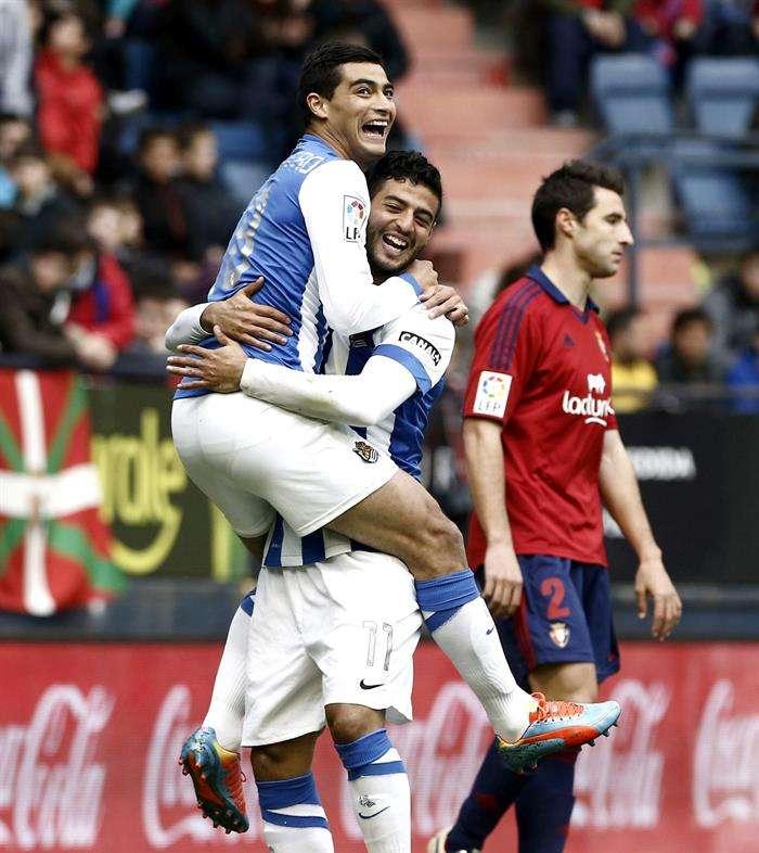 Las mejores imágenes del Osasuna - Real Sociedad