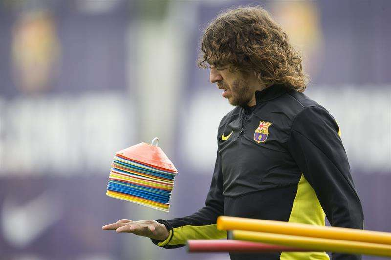 Carles Puyol asks for support from Barcelona fans