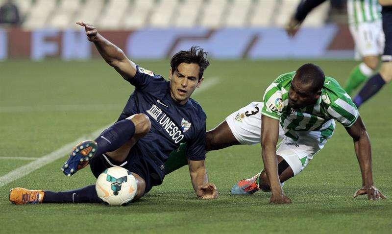 Las mejores imágenes del partido entre Betis y Málaga