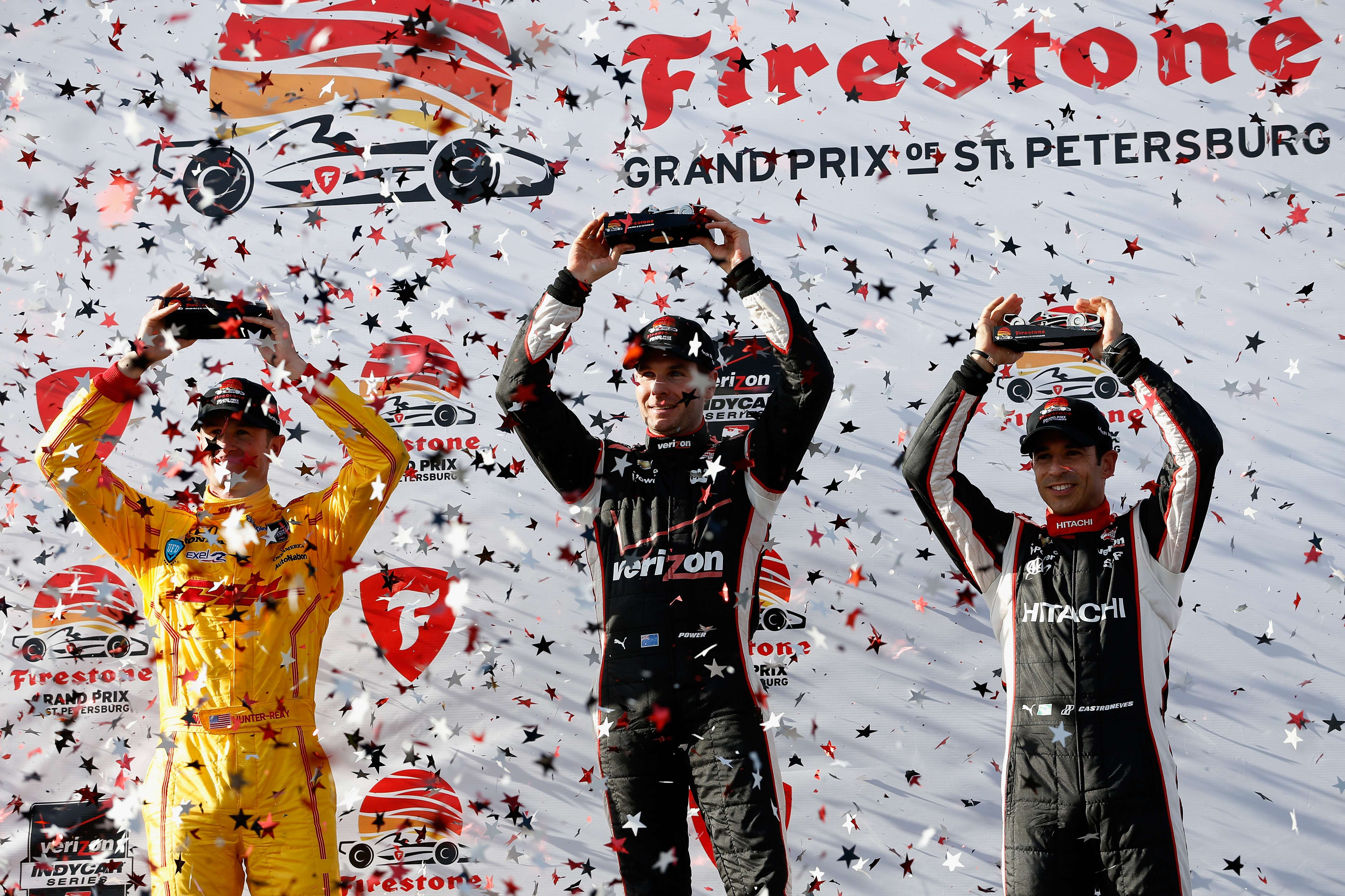 Will Power vence abertura da Indy 2014; Castroneves é 3°