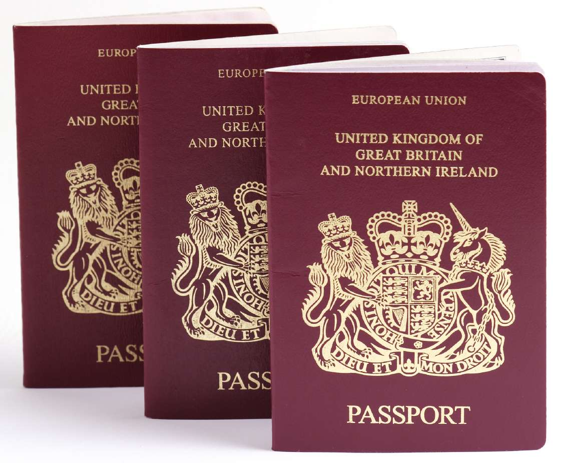 Pasaporte Reino Unido Foto: Archivo