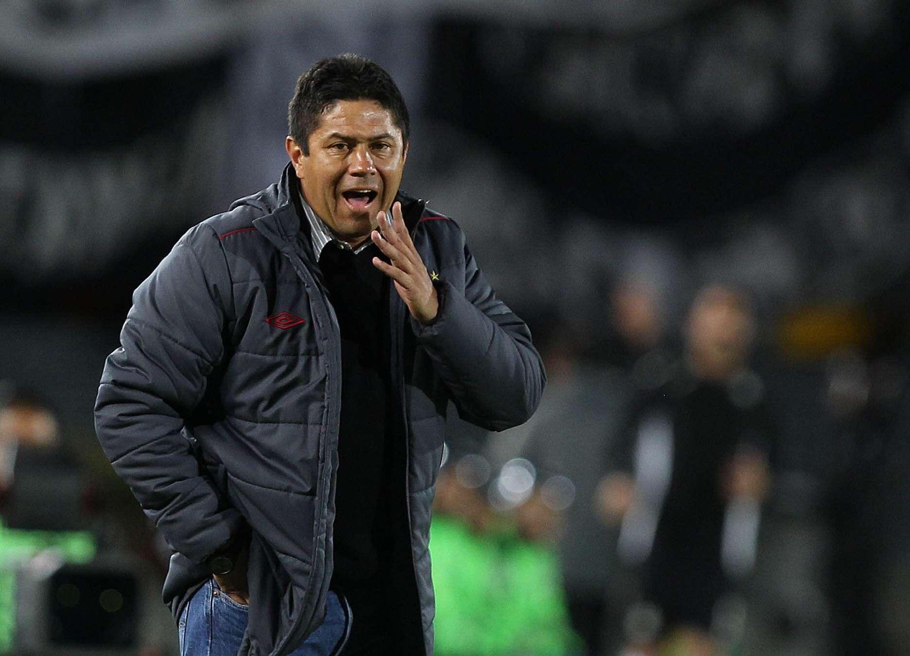 Wilson Gutiérrez, técnico de Independiente Santa Fe Foto: EFE