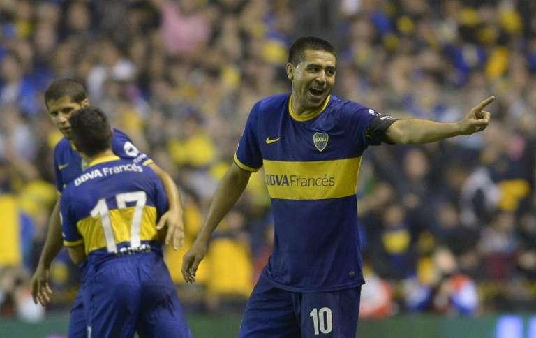 River le ganó el domingo 30 de marzo a Boca 2 a 1 en la Bombonera con tantos de Manuel Lanzini y Ramiro Funes Mori, mientras que Riquelme había empatado para el local. Las mejores imágenes, para coleccionar. Foto: Web