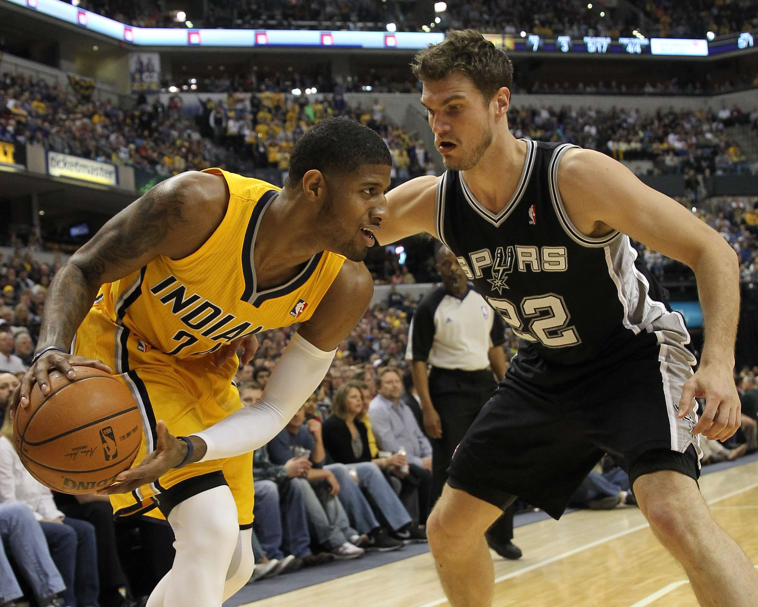 NBA: com Splitter, Spurs vencem Pacers e quebram recorde