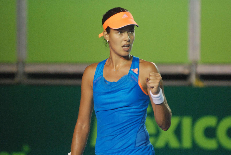 Ana Ivanovic avanzó a la segunda ronda del Abierto de Monterrey. Foto: Emilio López/Terra