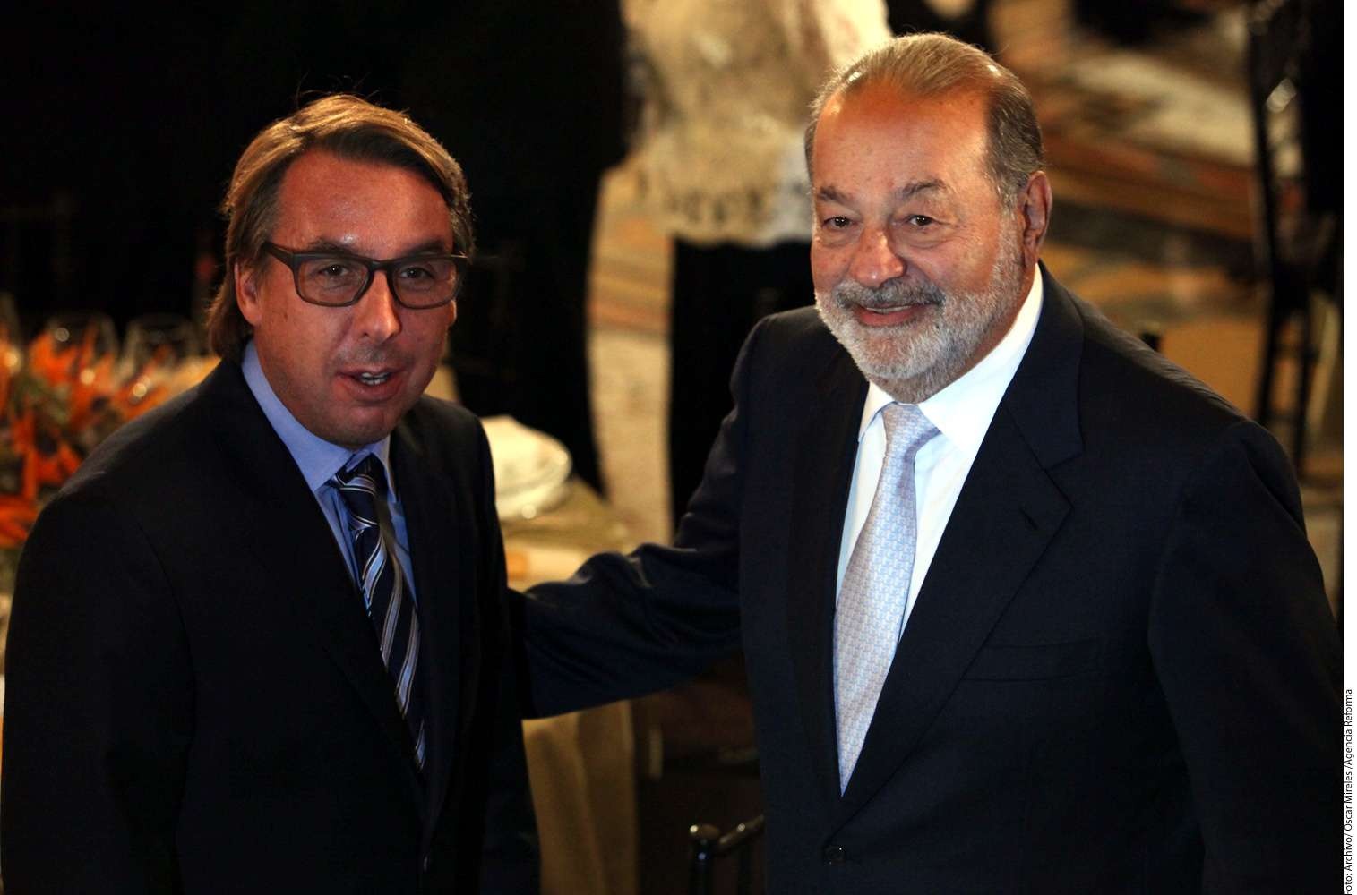La disputa entre las empresas de Carlos Slim y Emilio Azcárraga lleva ya varios años. Foto: Reforma