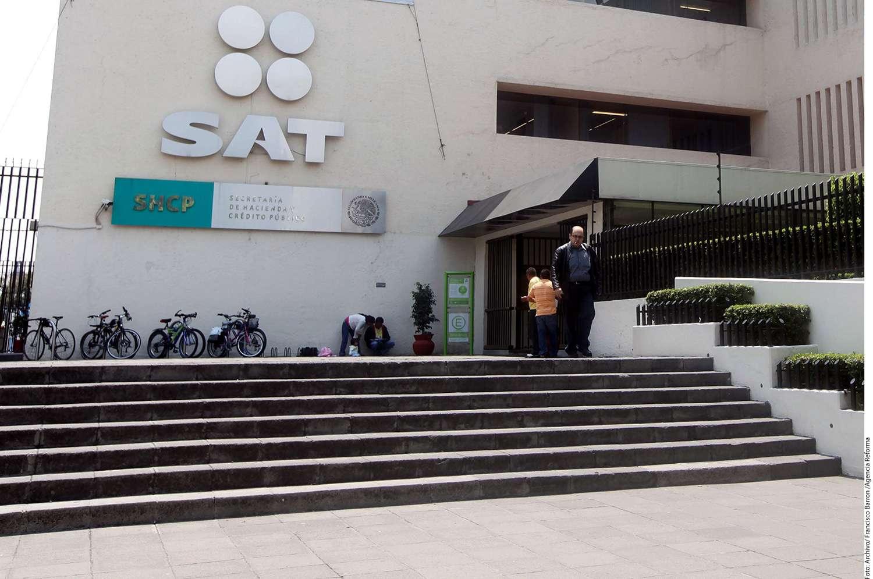Oficinas del SAT, SHCP Foto: Reforma
