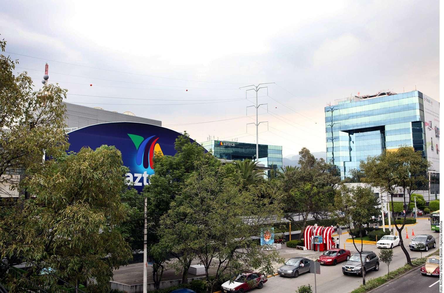 TV Azteca Foto: Reforma