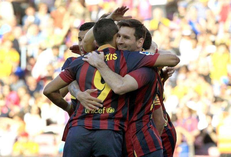 El Barcelona aprovecha la desdicha del Betis