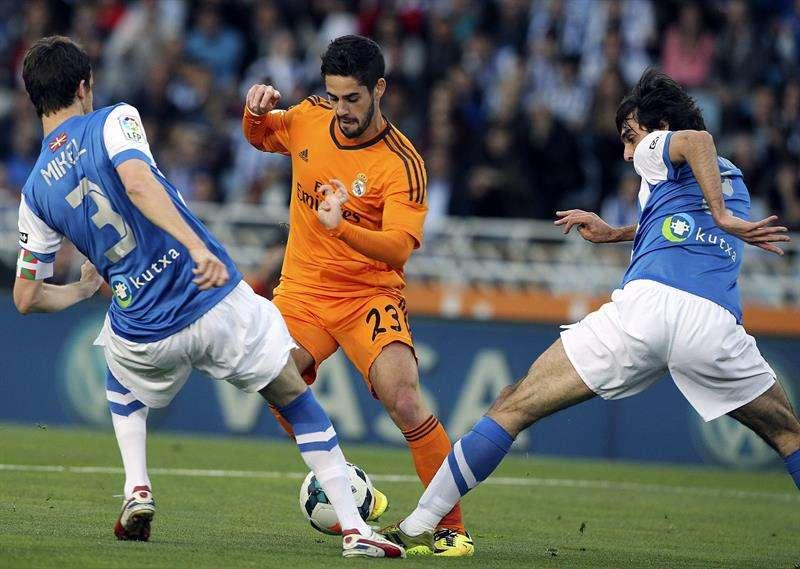 Las mejores imágenes de la Real Sociedad - Real Madrid