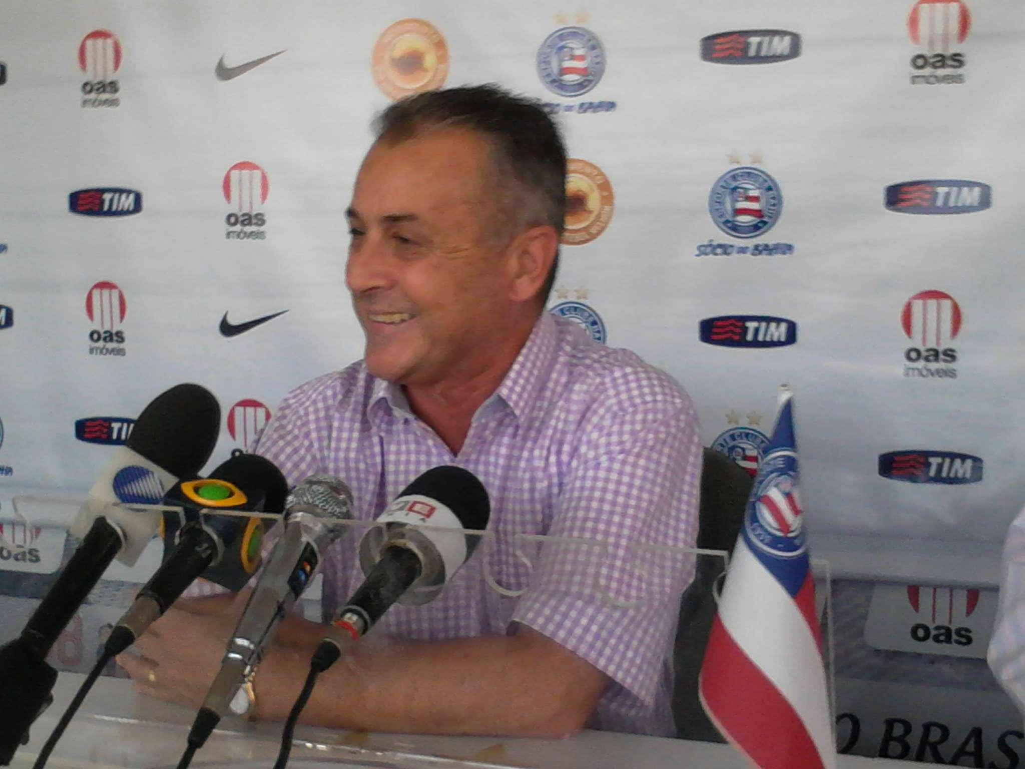 Bahia apresenta Bolicenho como novo diretor de futebol