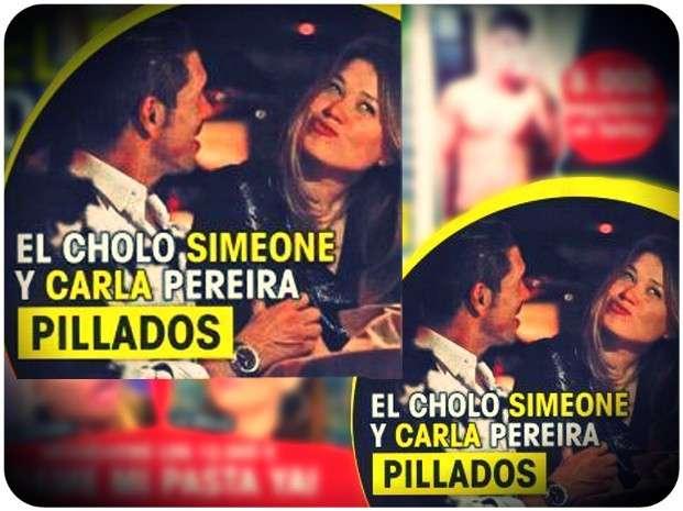 "Carla Pereira, ¿la nueva novia del ""Cholo"" Simeone?"