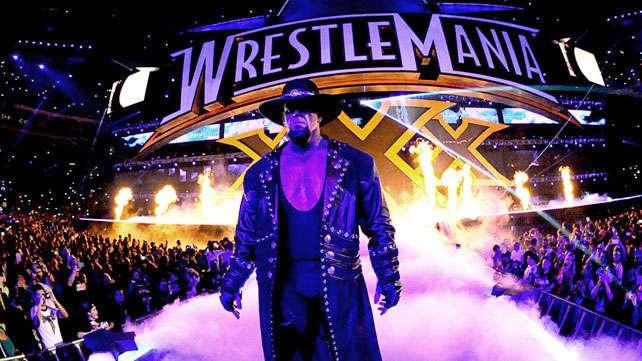 The Undertaker sufrió una conmoción cerebral tras su combate en el Wrestlemania XXX. Foto: Tomada del http://www.wwe.com/