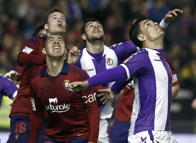 Osasuna y Valladolid no logran alejarse del descenso (0-0)