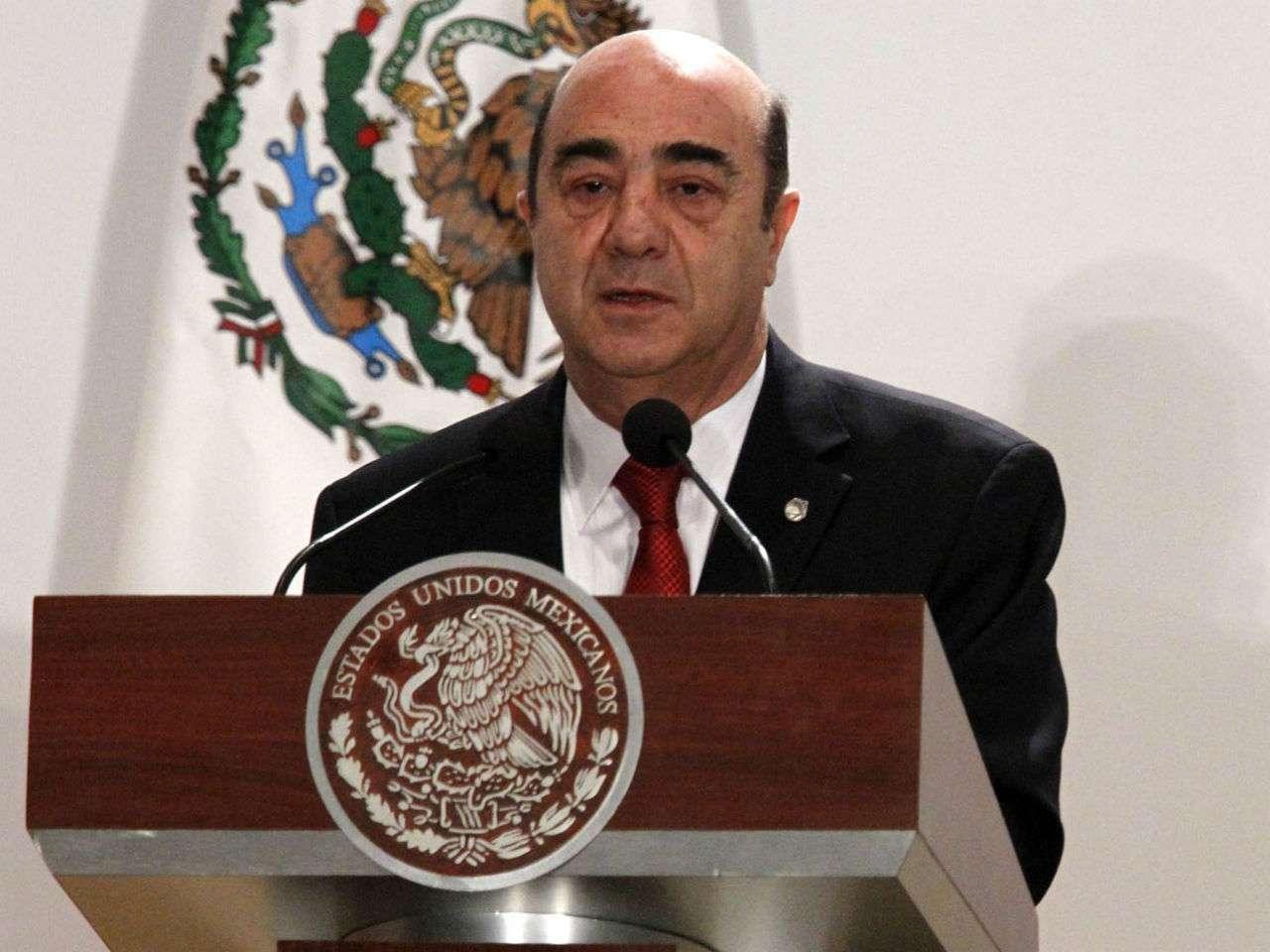 """Murillo Karam aseguró que se está """"preparando una estrategia mayor"""" para atender la problemática que enfrenta Tamaulipas. Foto: Archivo/Notimex"""