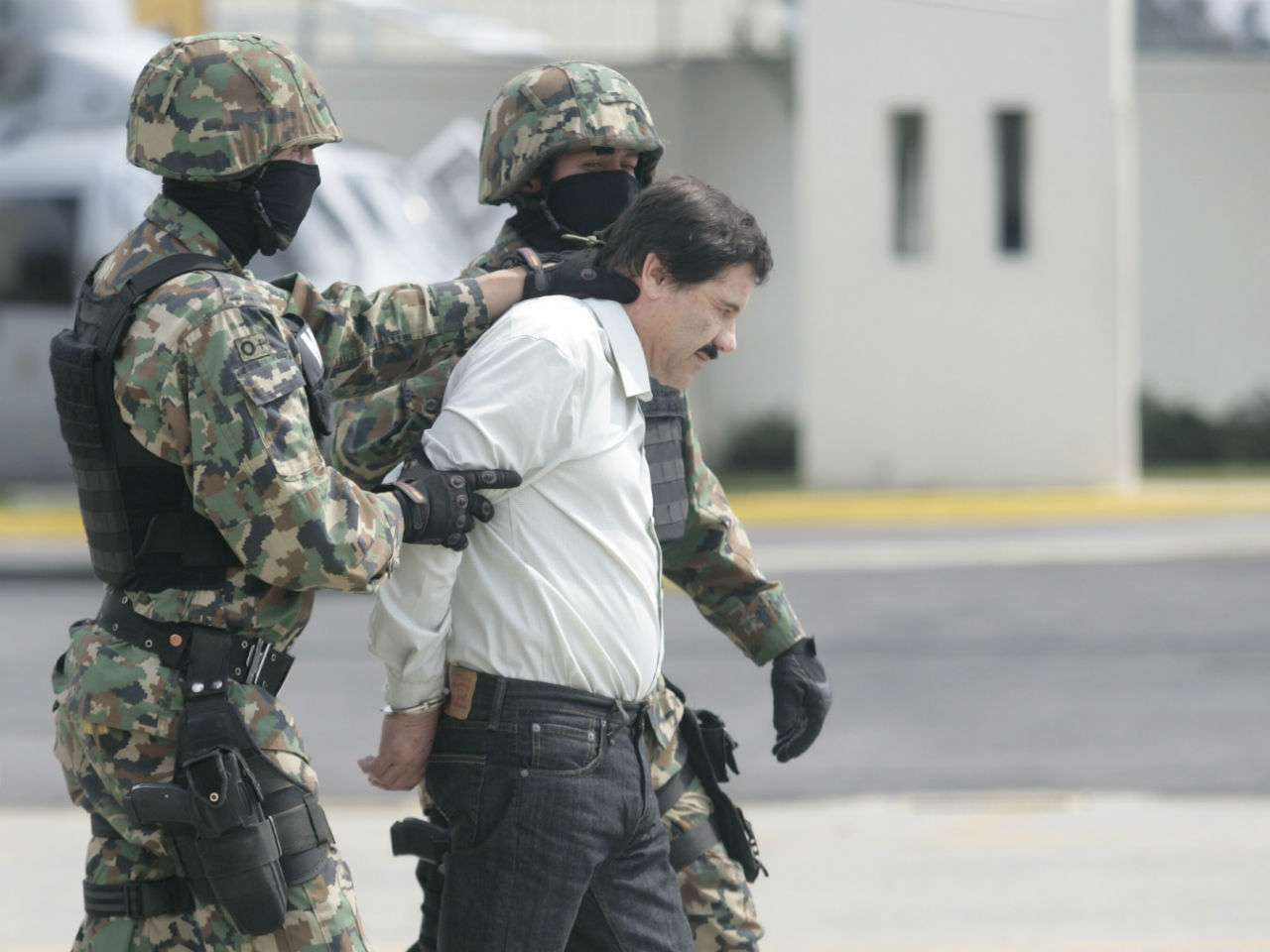 """Héctor Coronel Castillo, alias """"Rincón"""", presuntamente era el vínculo entre las FARC y el recientemente capturado Joaquín """"El Chapo Guzmán. Foto: Archivo/Terra México"""