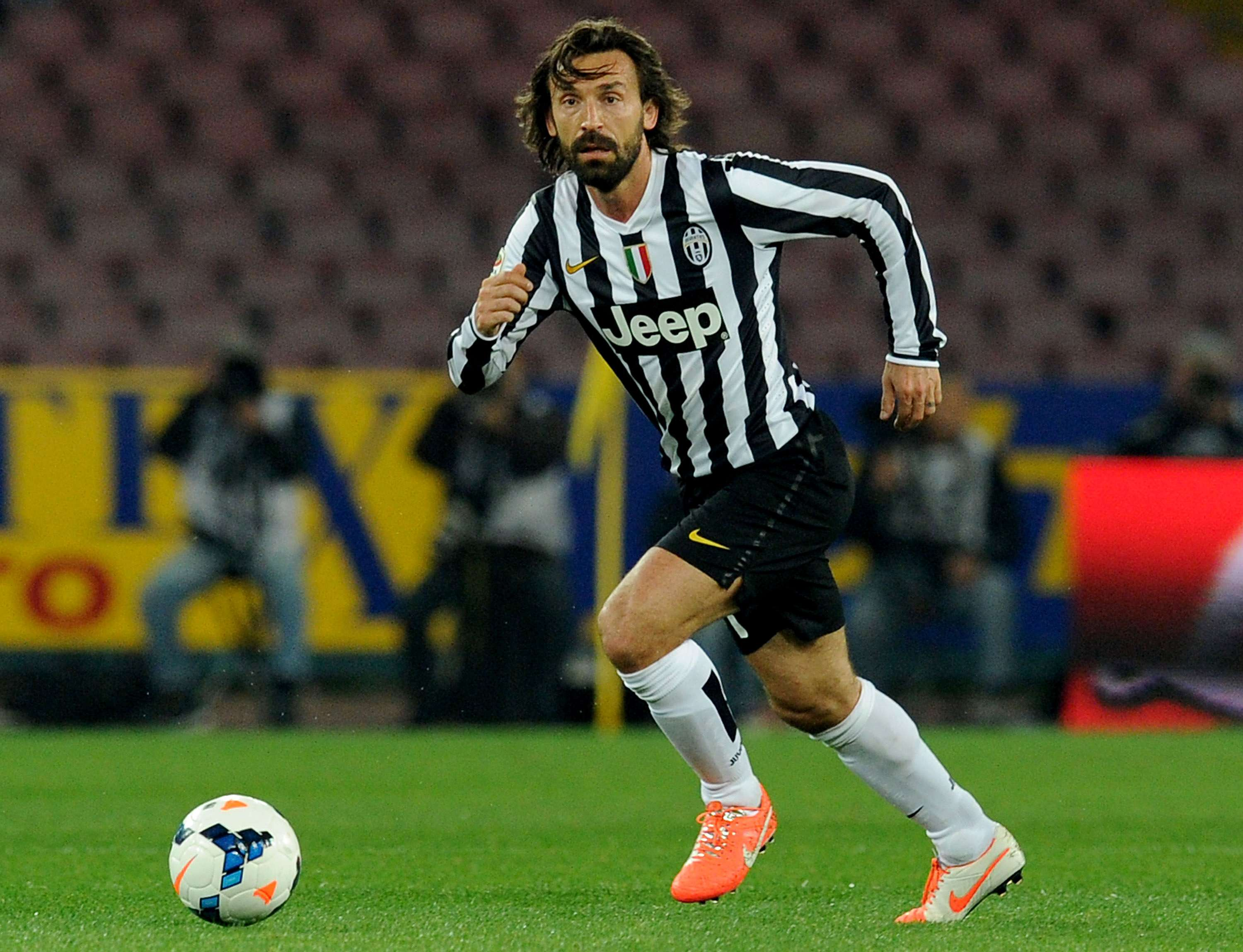 Pep Guardiola attempted to sign Andrea Pirlo at Barcelona