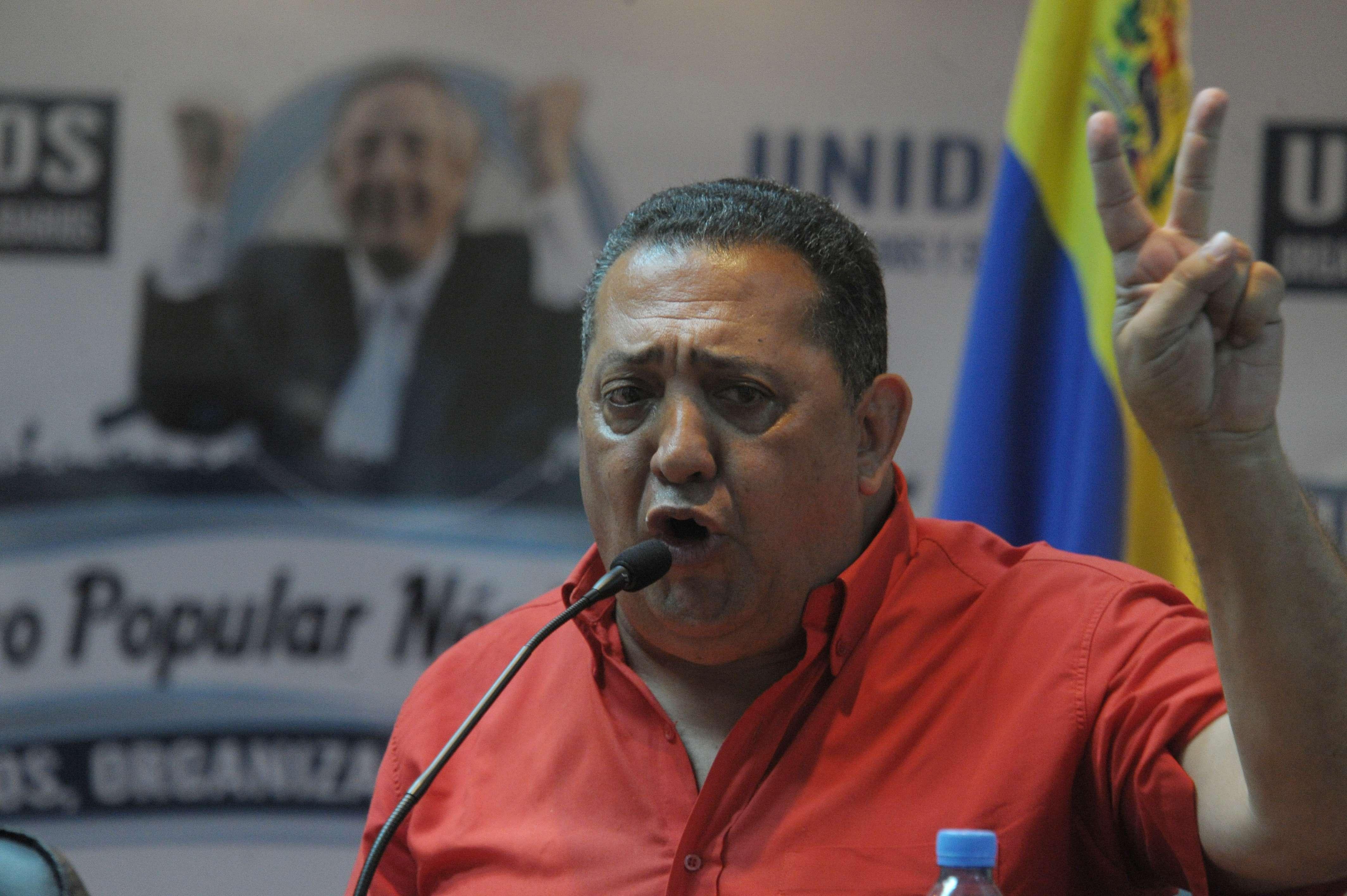 Luis D´Elía Foto: Télam