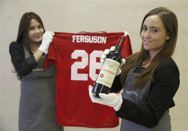Alex Ferguson's wine collection parallels his career