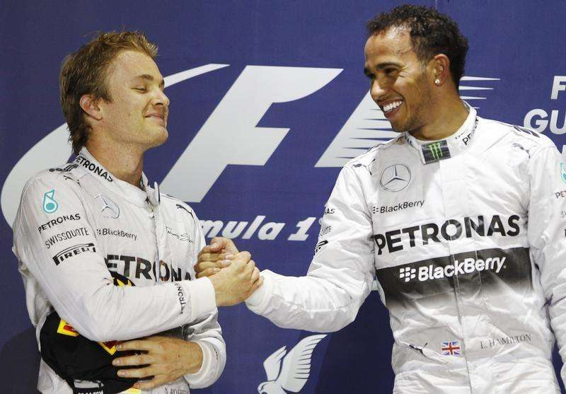 Rosberg out to wreck Hamilton hat-trick bid