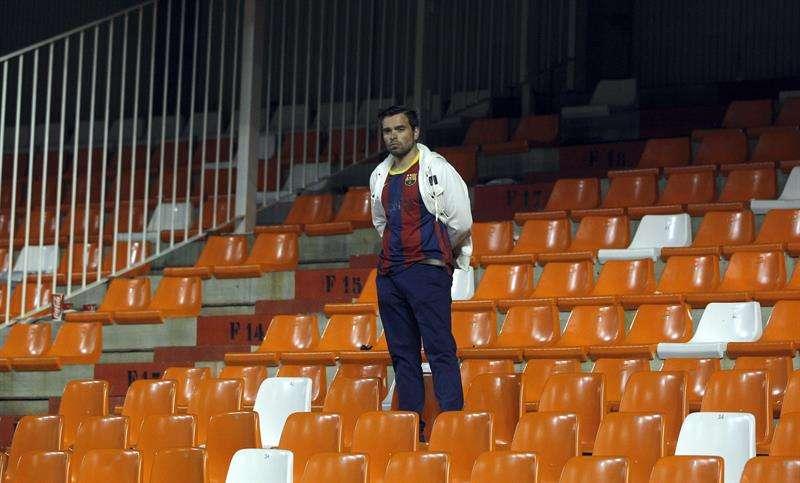 La RFEF pagará los desperfectos en Mestalla tras la final