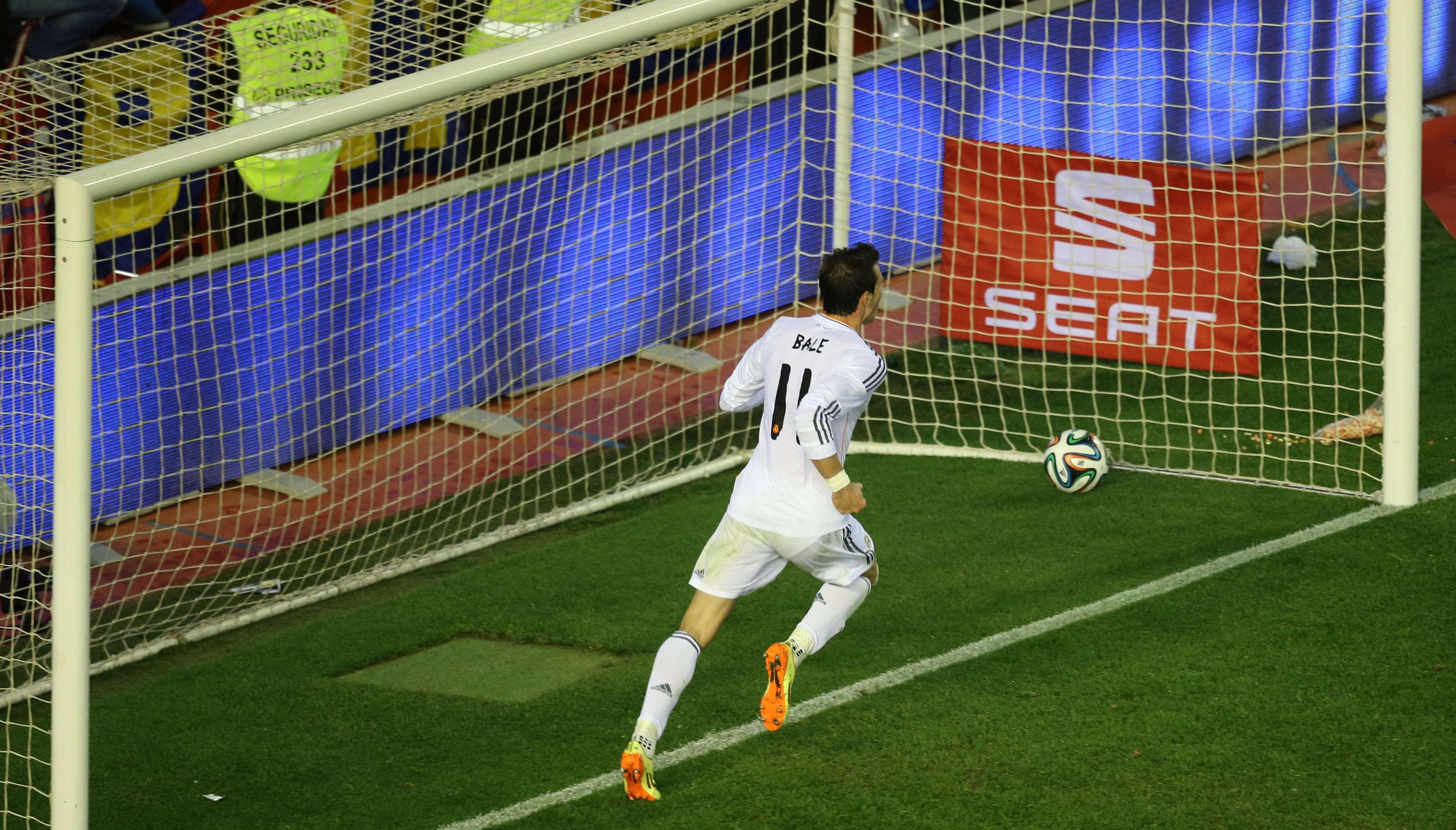 Bale correu 59 metros em 7,2 segundos para dar taça ao Real
