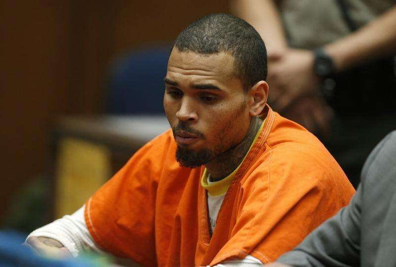 Singer Chris Brown's bodyguard on trial for assault