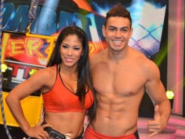 Karen Dejo y Coto en 'Combate'. Foto: Trome