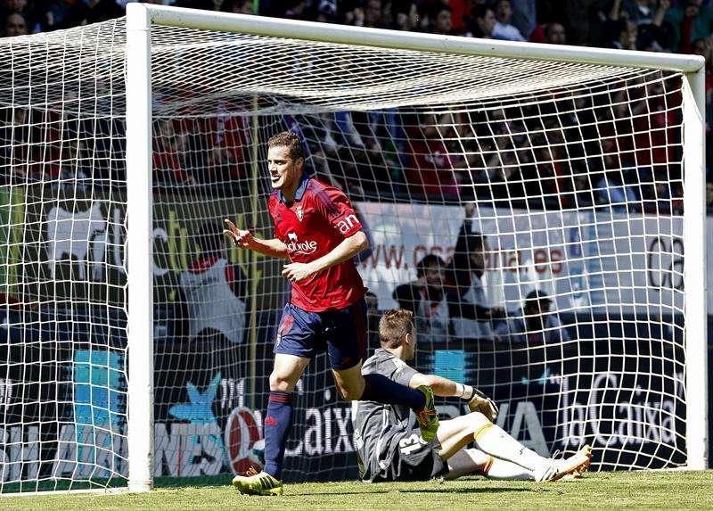 Las mejores imágenes del Osasuna - Valencia