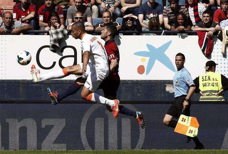 Jonas rasca un punto y mete en un problema a Osasuna (1-1)