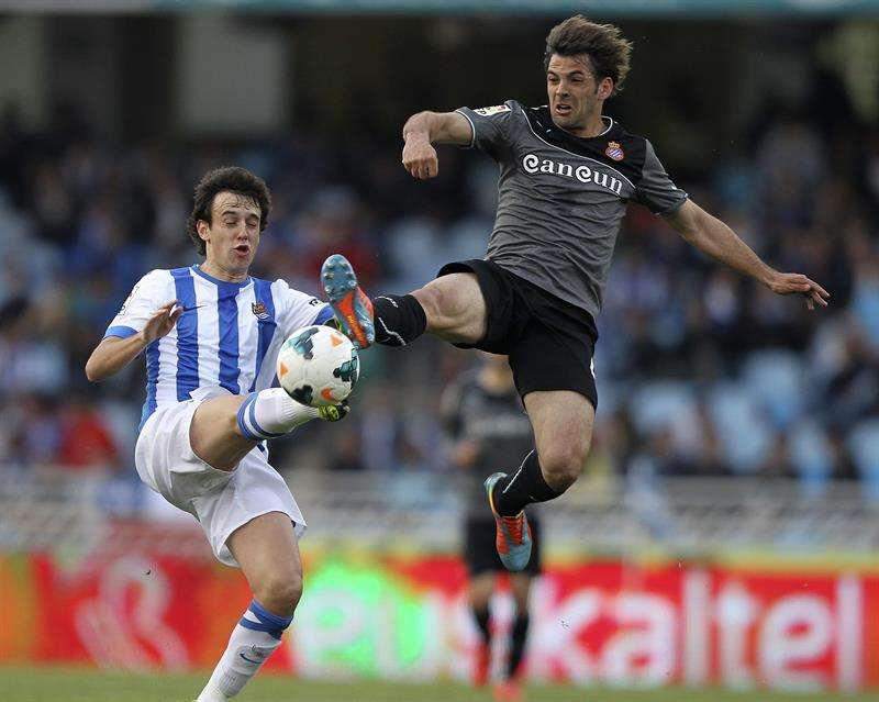 Real Sociedad - Espanyol Foto: EFE en español