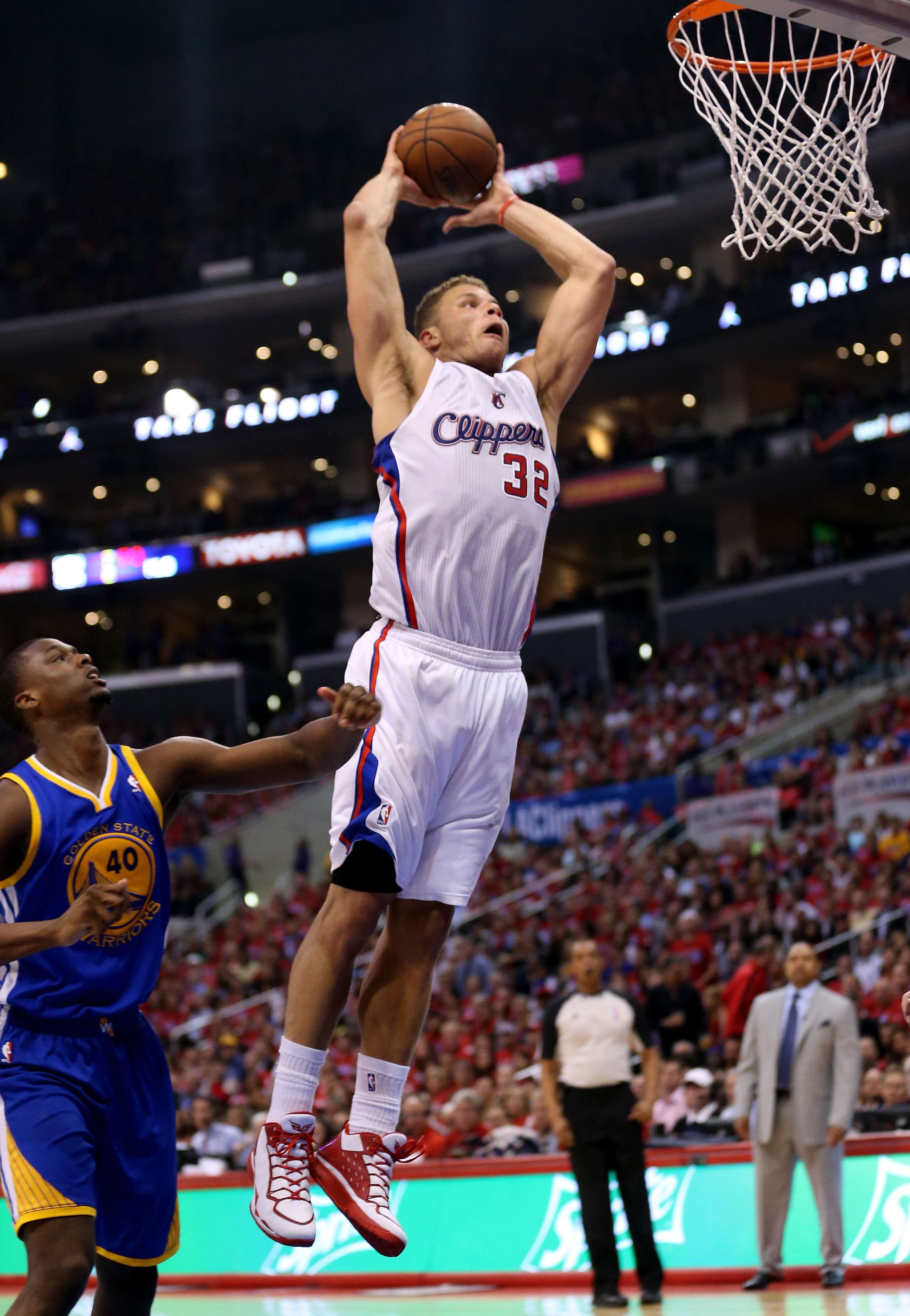 Com show de Griffin, Clippers batem Warriors e fazem 1 a 1