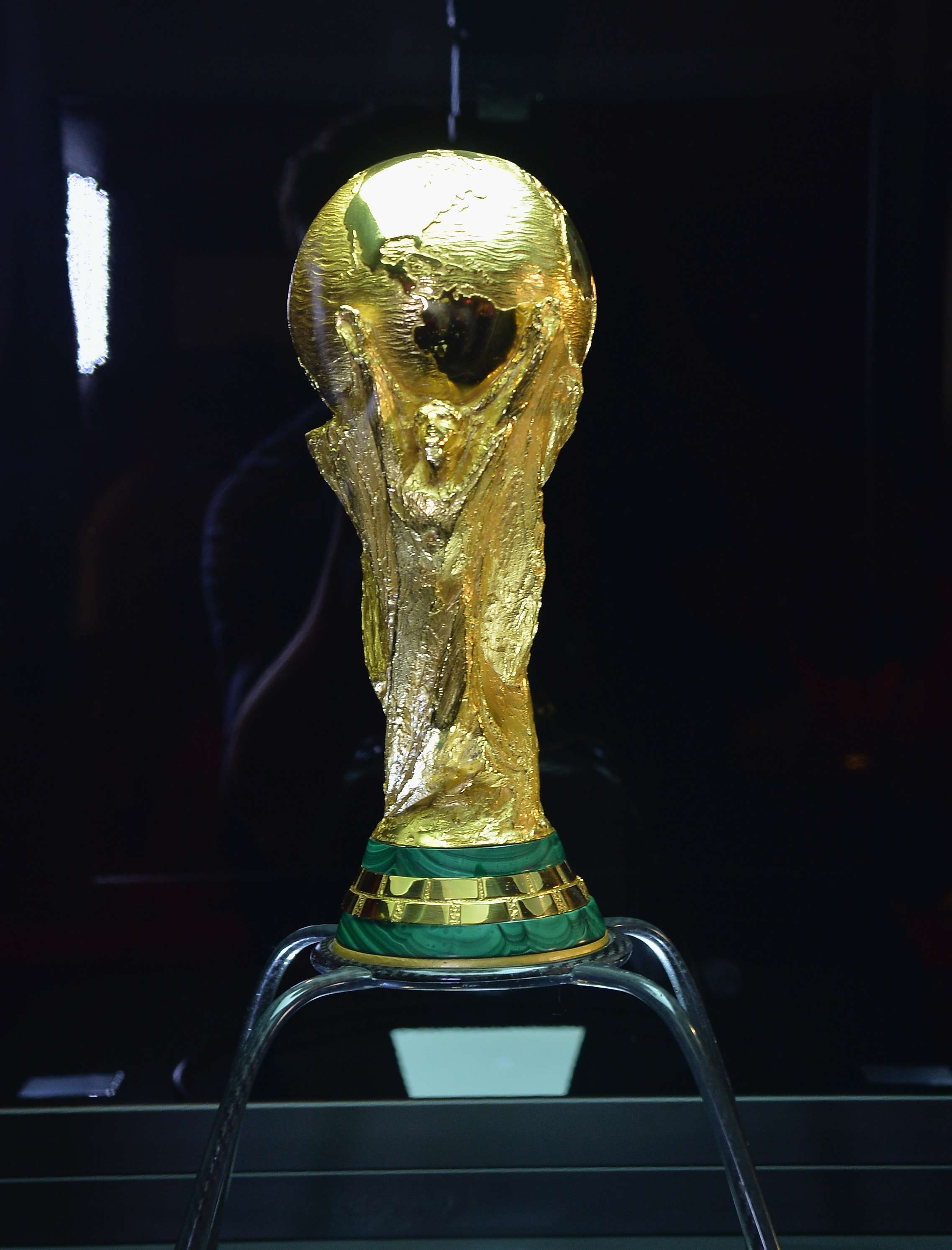 World Cup trophy begins tour of Brazil