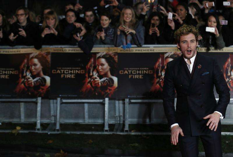 A Minute With: Sam Claflin on horror, heroes and 'Hunger...