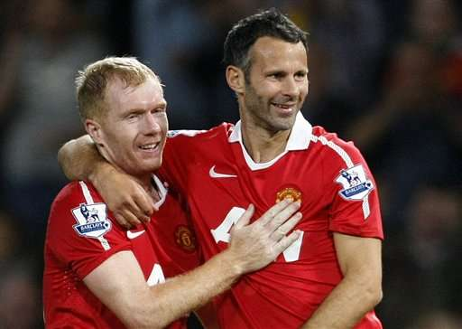 Paul Scholes to assist Ryan Giggs at Manchester uNited