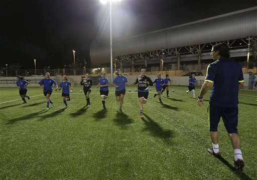 Israeli women's league makes history with Arab players