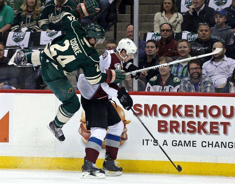 Minnesota's Cooke handed seven-game ban for knee assault