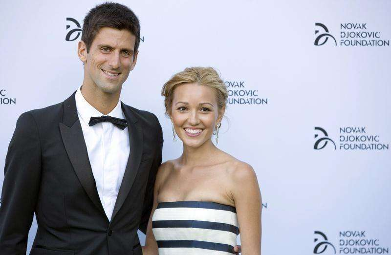 Djokovic set to become a dad