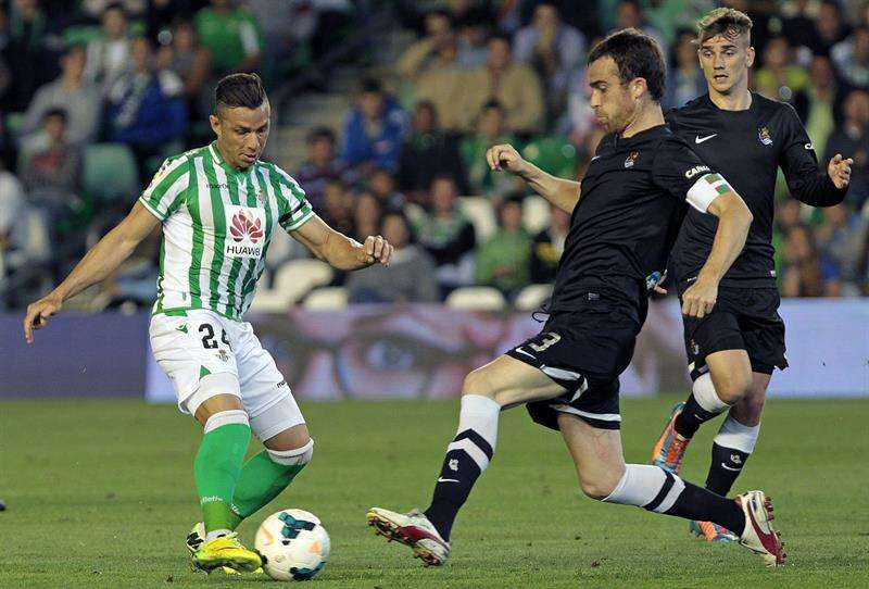 El Villamarín y la Real castigan a un Betis descendido (0-1)