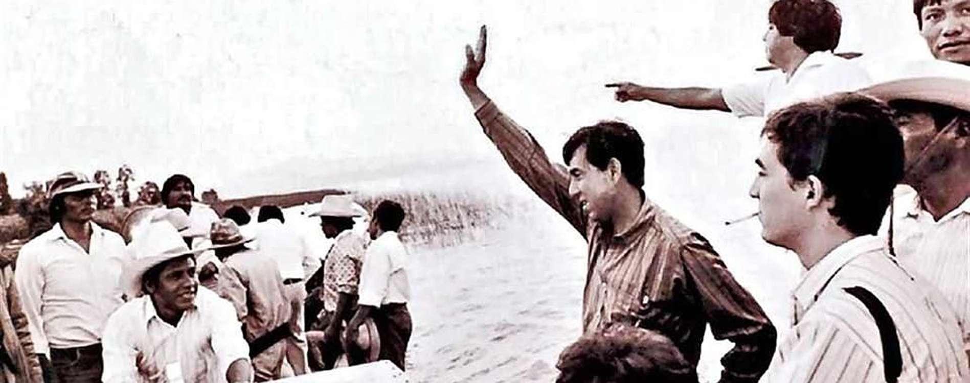 Cuauhtémoc Cárdenas cumple 80 años Foto: Reforma