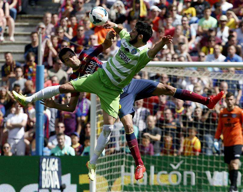 Las mejores imágenes del partido entre Barça y Getafe