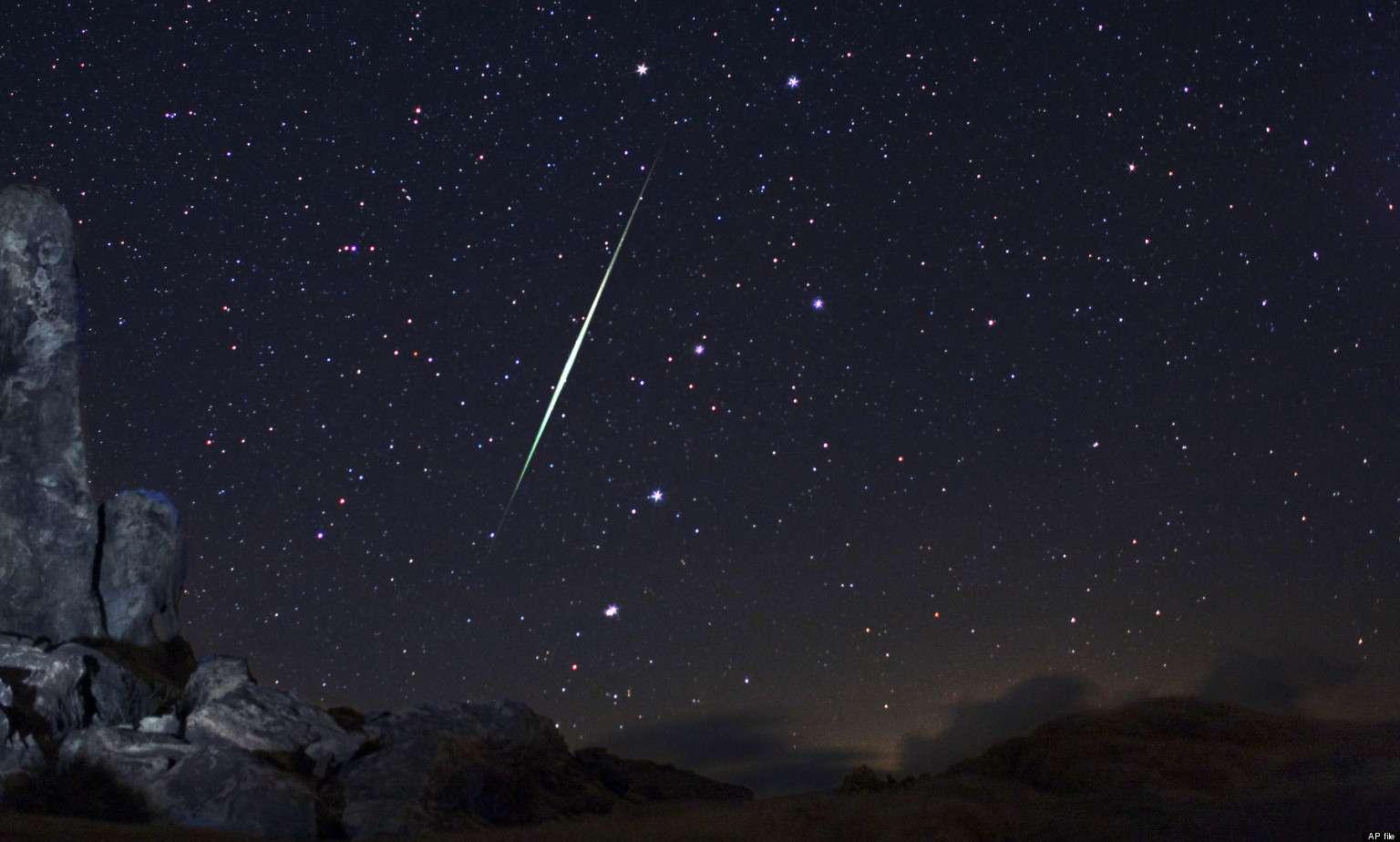 Chuva de meteoros poderá ser vista a olho nu nesta noite