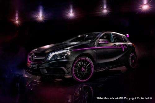 Mercedes A45 AMG Erika by AMG Performance Studio Foto: Mercedes A45 AMG Erika by AMG Performance Studio